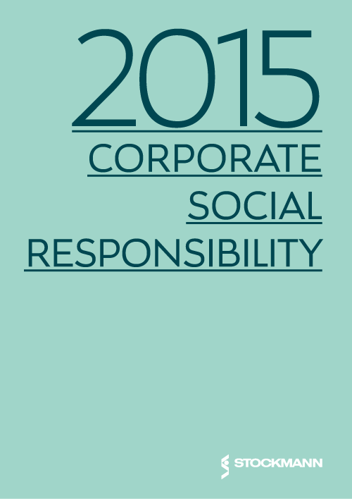 2015 Corporate social responsibility