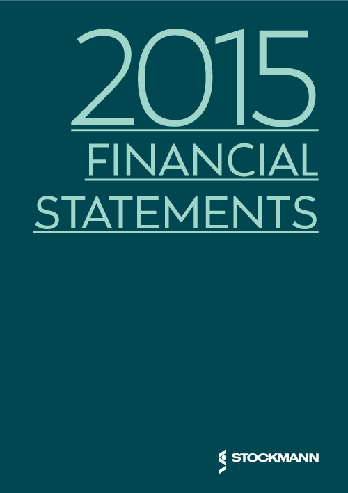 2015 Financial statements